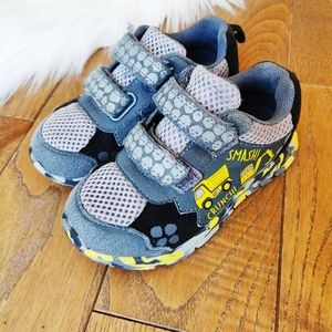 Cute construction running shoes